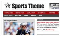 Revolution Sports Wordpress Theme mdro.blogspot.com