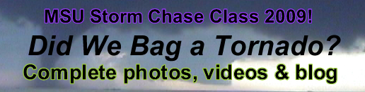 MSU Storm Chase Class