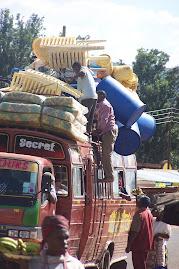 Loaded Matatu