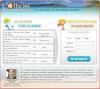 Officiel des vacances et la Corse