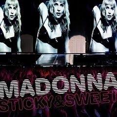 cd Madonna - Sticky & Sweet Tour 2010