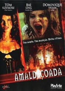 Filme Poster Amaldiçoada DVDRip XviD Dual Áudio