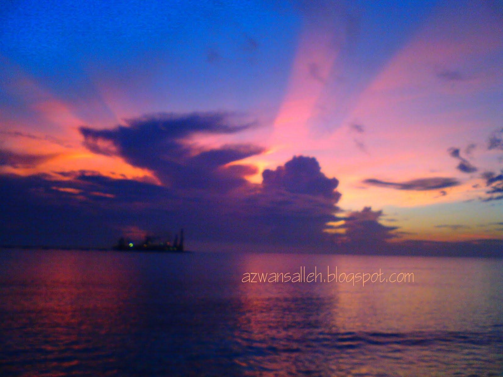 Semanjung malaysia oleh hal demikian pemandang pada waktu pagi di