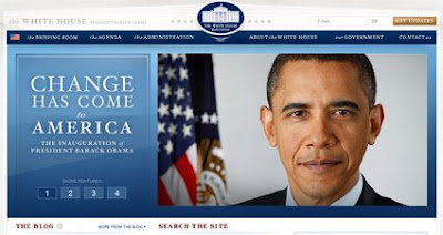 White House Website Now Obama