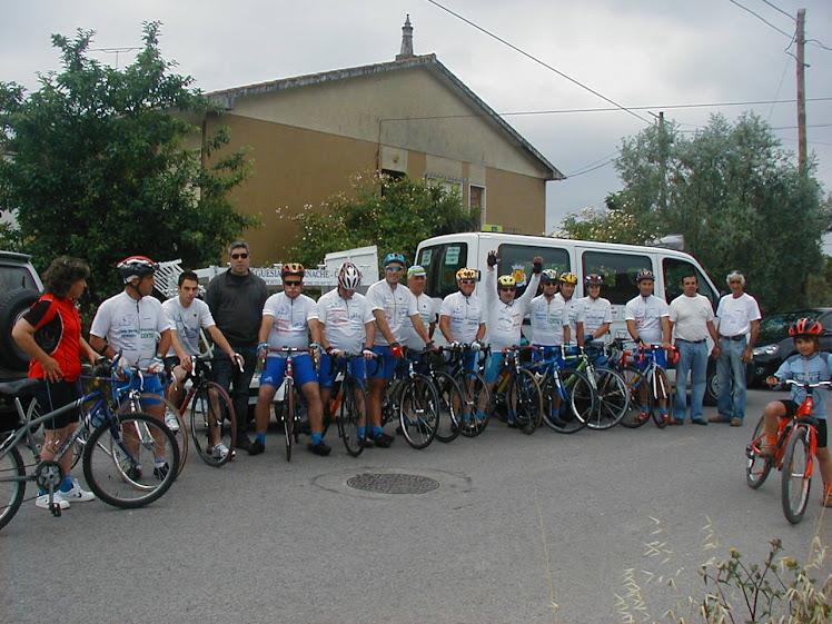 A Equipa do Vilanovense de 2010, presente no seu 7º Convivio de cicloturismo em 06/06/2010