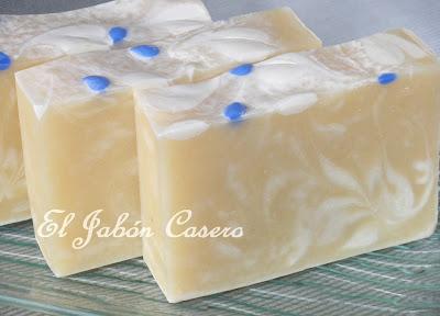 Jabones artesanales caseros leche de coco