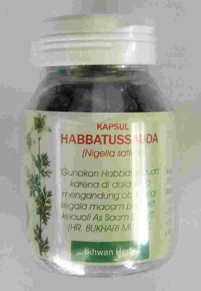 Annisa-Herbal: Kapsul Habbatussauda
