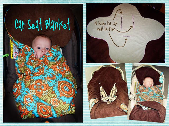 Car Seat Blanket Pattern Details