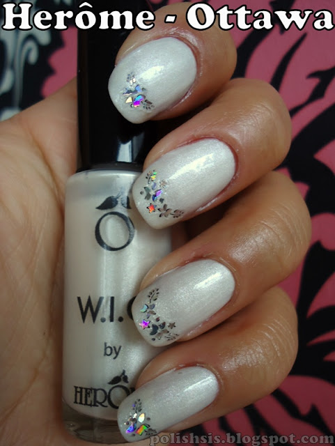 Winterwonderland Nails With Herme Ottawa Polishsis
