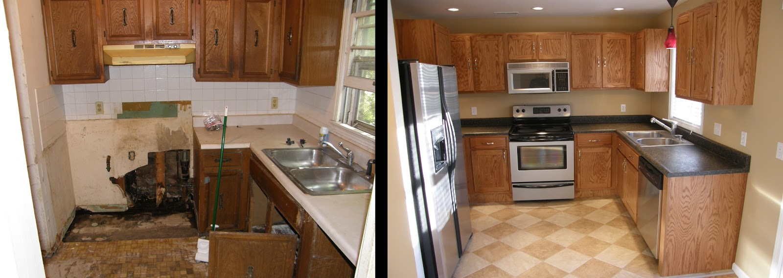 small kitchen remodel before and after ~ kass