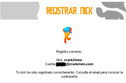 Registra tu nick en el chat Dibujo3