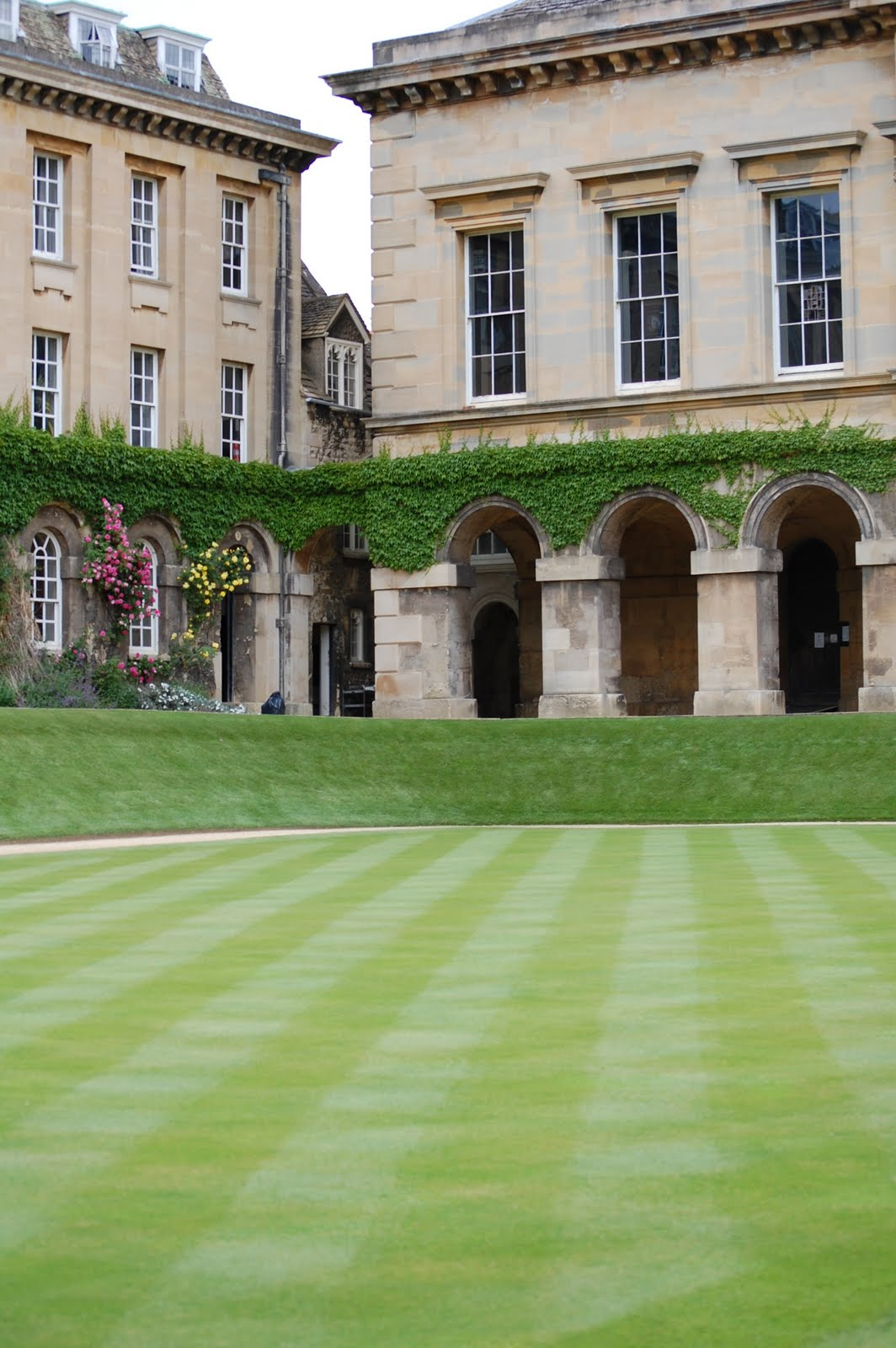 Worcester College Gardeners Change Of Direction