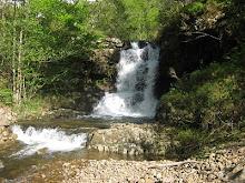 Una de las cascadas del arroyo Juzmeana