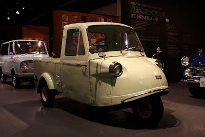 トヨタ博物館,ダイハツ ミゼット mp5型,1963年