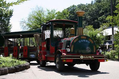 里山バス,れんげ号,日本昭和村