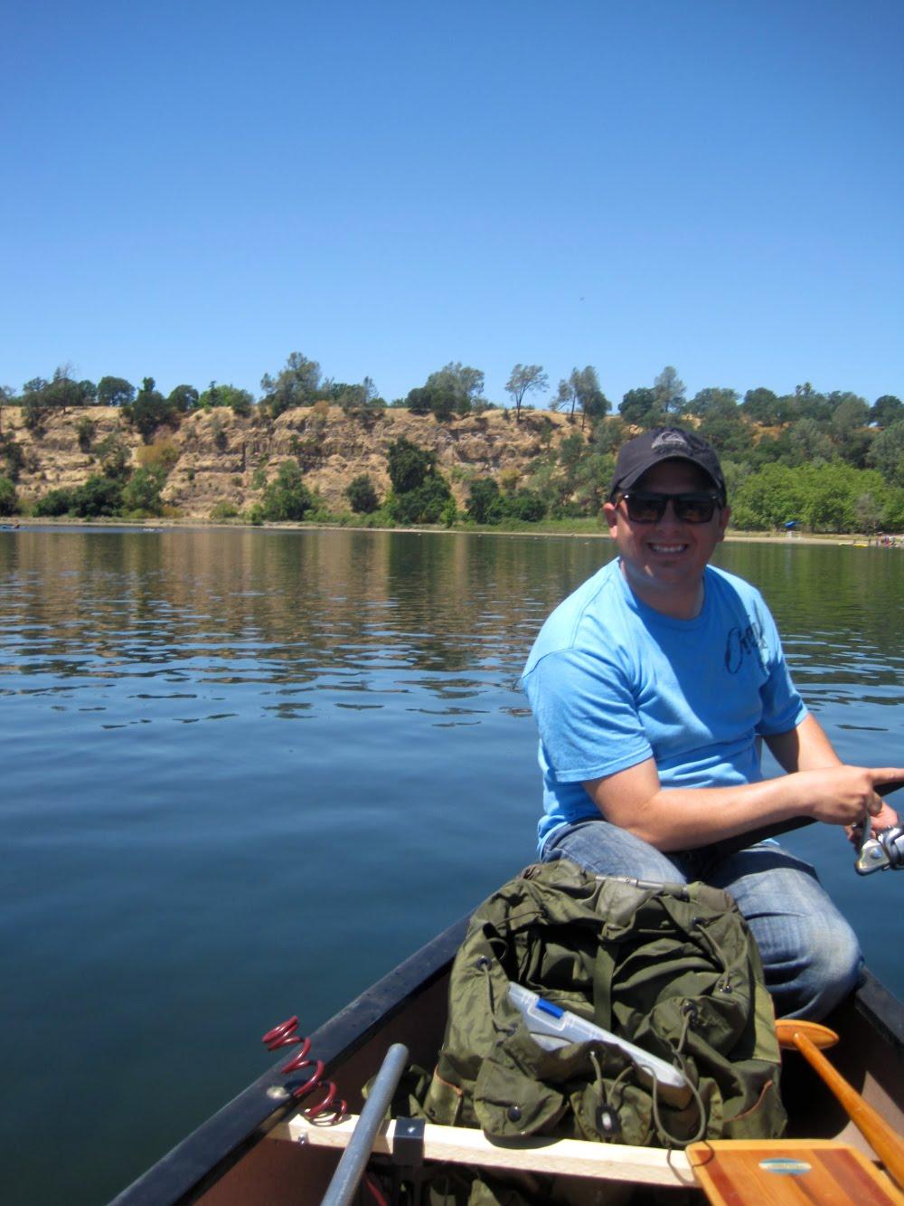 Sunny side up for Lake natoma fishing