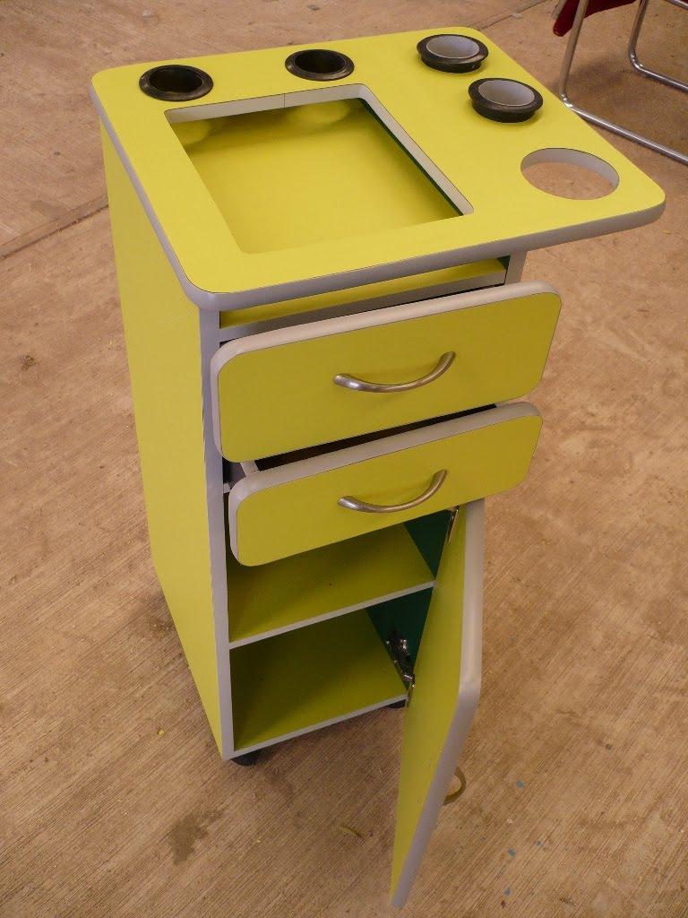 Encino muebles carrito auxiliar profesional for Fabricantes de muebles para estetica