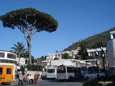 Piazza Vittoria and Mount Barbarossa