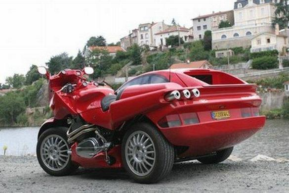 Ferrari Car - Motorcycle