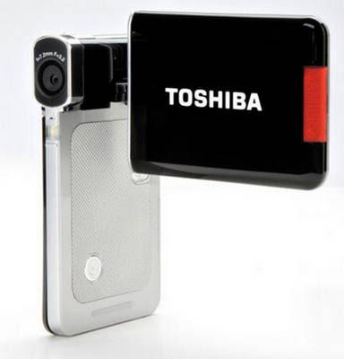 technology: toshiba camileo s20 handheld video camera