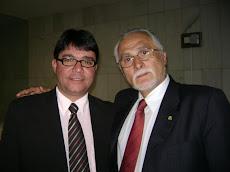 Vereador Ramiro Grossi com José Genoíno em Brasíla.