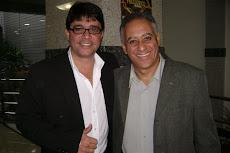 Vereador Ramiro Grossi com o Vice-Prefeito de BH Roberto Carvalho.
