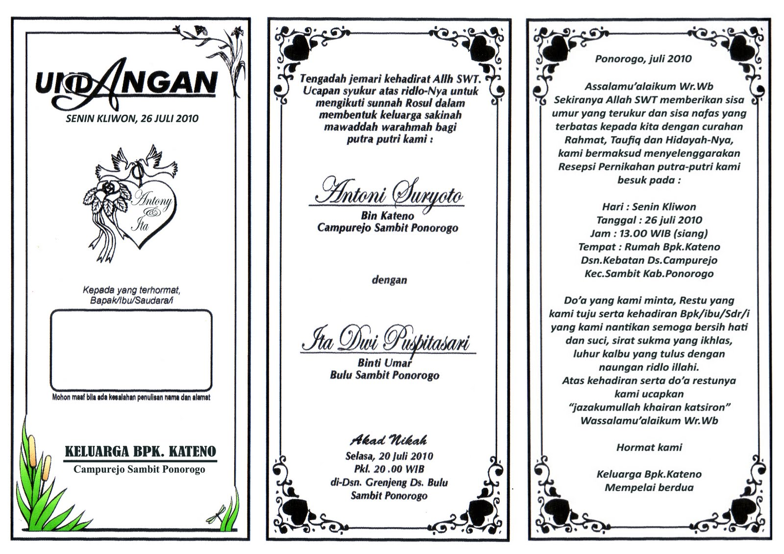 Download Template Undangan Gratis Format Ms Word