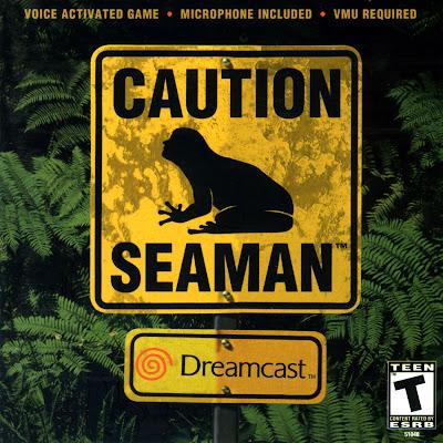 Seaman Sega Dreamcast