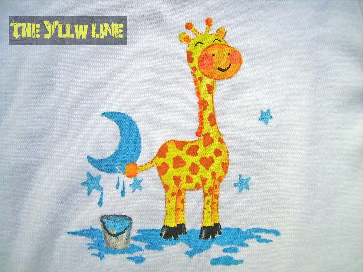 ... jirafa con dotes artisticas haciendo de las suyas menudo chandrio ha