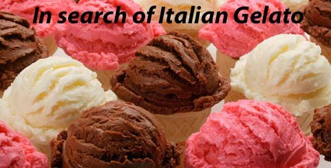 In Search of Italian Gelato