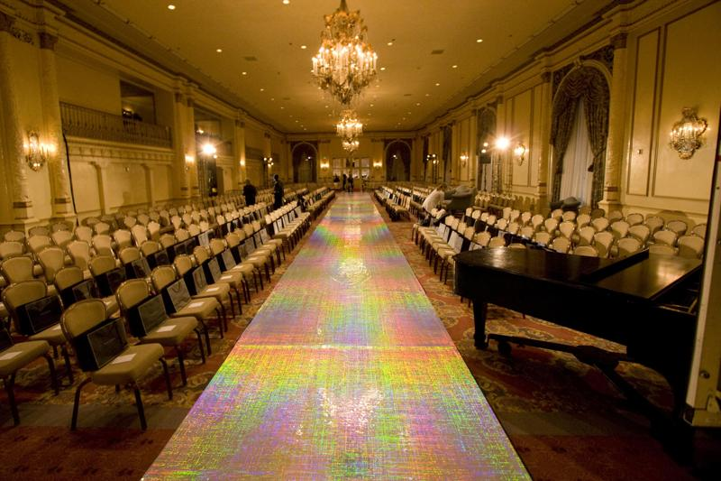 Fashion Show Dress Change Iridescent Runway The HOLO