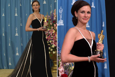 Julia Roberts at the Oscars