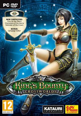 Categoria estrategia, Capa Download King's Bounty: Crossworlds (PC)