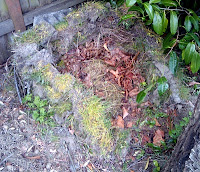 sod walled compost heap