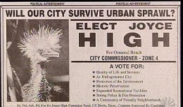 really wrong photo placement of joyce high bird politician ad