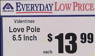 funny valentines gift love pole for sale 13.99 photo
