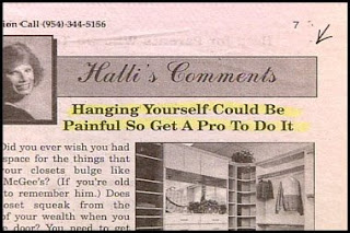 funny stupid advice on hanging yourself get help to do it shelves photo