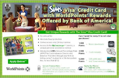 Sims Visa