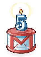 Gmail 5 años