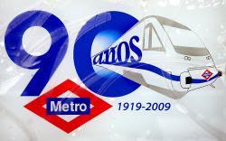 90 años  MetroMadrid