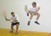 Wacky racquetball