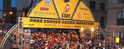 Akron Marathon 2009 start