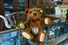 LOUIS TEDDY BEAR 44 U.S EXCLUSIVE 1994 NO.02526 LIMITED 3,500 (STEIFF) REPLICA1908