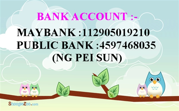 SHOP OWNER BANK ACC
