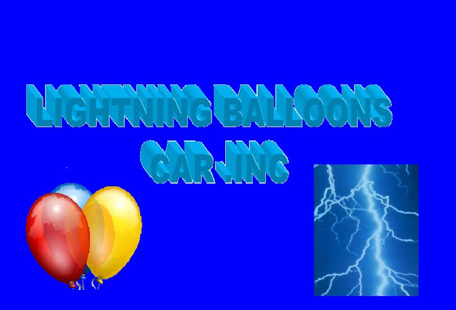 Lightning Balloons Car. Inc