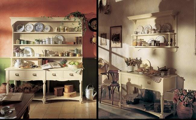 Cucina Old England - Shabby Chic Interiors