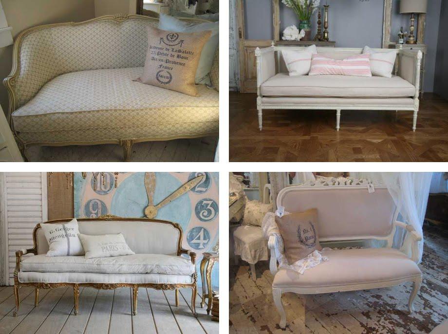 Il divano shabby chic interiors for Divano letto shabby chic