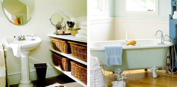 Un bagno o due shabby chic interiors - Devo rifare il bagno ...