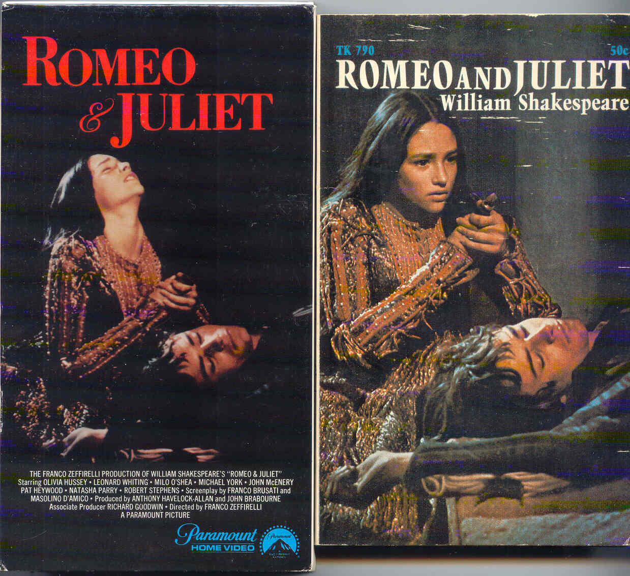 the movie version of the play romeo and juliet by william shakespeare