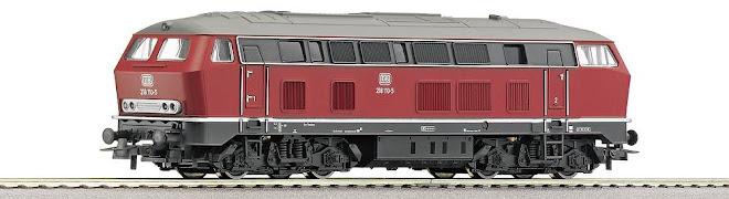 Maquina ROCO BR 218 - Escala 1/87 H0